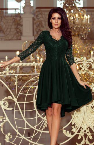 Sukienka na wesele z koronką zielona | Sukienki na wesele |Sklep