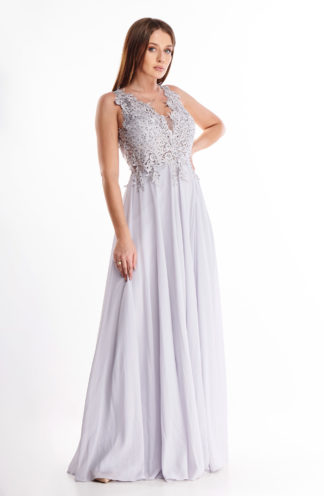 Ekskluzywna sukienka maxi z haftem