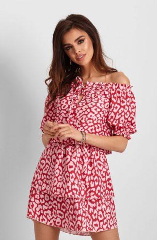 Sukienka hiszpanka na lato we wzory