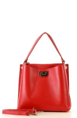 Elegancka torebka do ręki czerwona