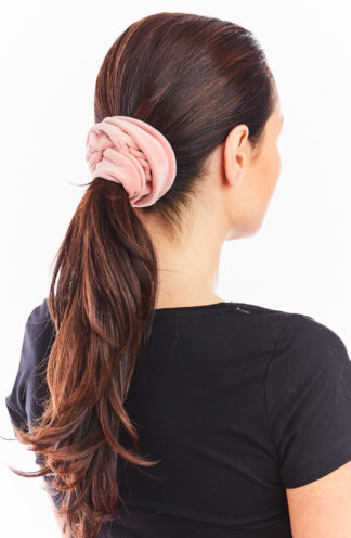 Welurowa gumka do włosów