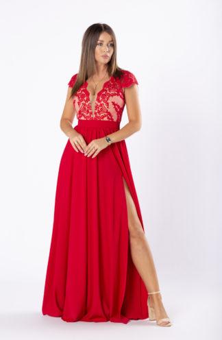 Ekskluzywna suknia maxi na wesele