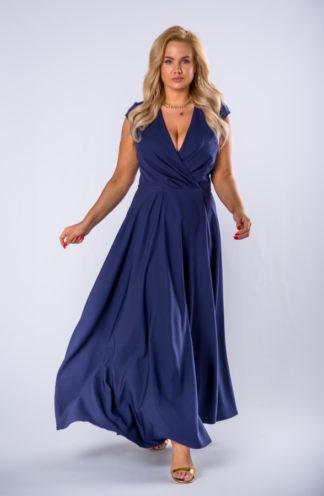 Elegancka sukienka maxi PLUS SIZE