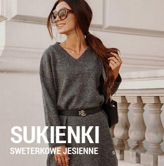 Sukienki sweterkowe jesień 2021 na 13sukienek.pl